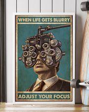 optometrist blurry focus 24x36 Poster lifestyle-poster-4