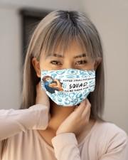 squad mask nurse practitioner Cloth Face Mask - 3 Pack aos-face-mask-lifestyle-18