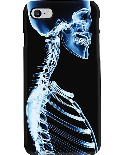 xray skeleton phonecase