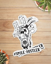 sticker smile hustler Sticker - 6 pack (Vertical) aos-sticker-6-pack-vertical-lifestyle-front-07