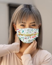 I am mas Periodontist Cloth Face Mask - 3 Pack aos-face-mask-lifestyle-18