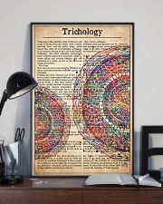 hair-text-watercolor-trichology 24x36 Poster lifestyle-poster-2