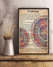 hair-text-watercolor-trichology 24x36 Poster lifestyle-poster-3