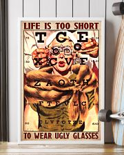 Optometrist too short 24x36 Poster lifestyle-poster-4