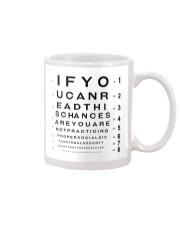 eyechart understand  Mug tile