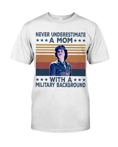 Veteran mom military background