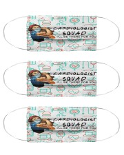 squad mask cardiologist Cloth Face Mask - 3 Pack front