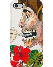 dentistry abstract Phone Case i-phone-8-case