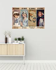 nurse be strong dvhd ntv 36x24 Poster poster-landscape-36x24-lifestyle-01