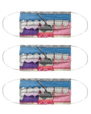 dental abstract 2506 14 Cloth Face Mask - 3 Pack front