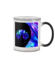 neon mask optometrist Color Changing Mug tile