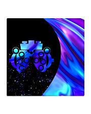 neon mask optometrist Square Coaster tile