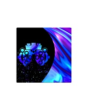 neon mask optometrist Square Magnet tile