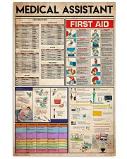 Medical Assistants knowledge 24x36 Poster front