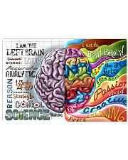 left rignt brain 17x11 Poster front