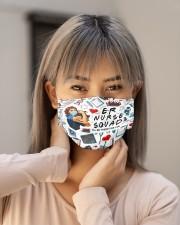 mas squad ER nurse Cloth Face Mask - 3 Pack aos-face-mask-lifestyle-18