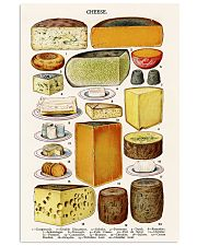 cheese print vintage kitchen 11x17 Poster front