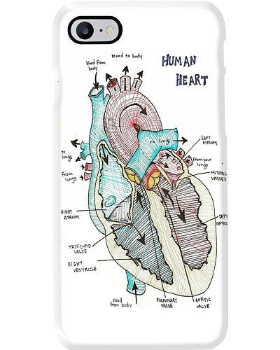 heart anatomy draw