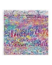 retina mask  Square Coaster thumbnail