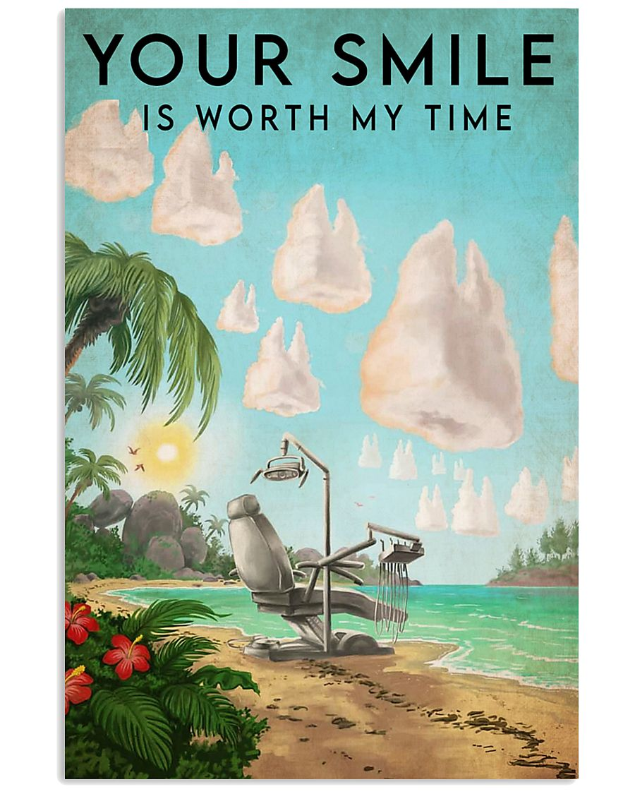 smile worthtime-art  11x17 Poster