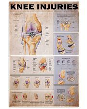 Knees injuries 24x36 Poster front
