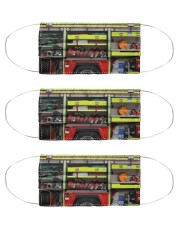 firetruck mask  Cloth Face Mask - 3 Pack front