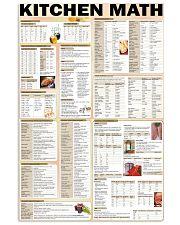 kitchen math  24x36 Poster front
