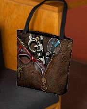optometrist tote lthr dvhd cva All-over Tote aos-all-over-tote-lifestyle-front-02