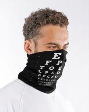 eye chart-close-mask wht Neck Gaiter - 3 Pack aos-neck-gaiter-lifestyle-08