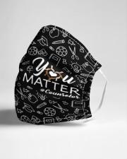 schoolcounselor matter mask bk  Cloth Face Mask - 3 Pack aos-face-mask-lifestyle-21