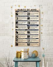 counselor habits mind 16x24 Poster lifestyle-holiday-poster-3