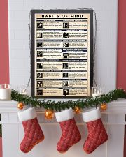 counselor habits mind 16x24 Poster lifestyle-holiday-poster-4