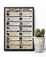 counselor habits mind 16x24 Poster lifestyle-poster-8