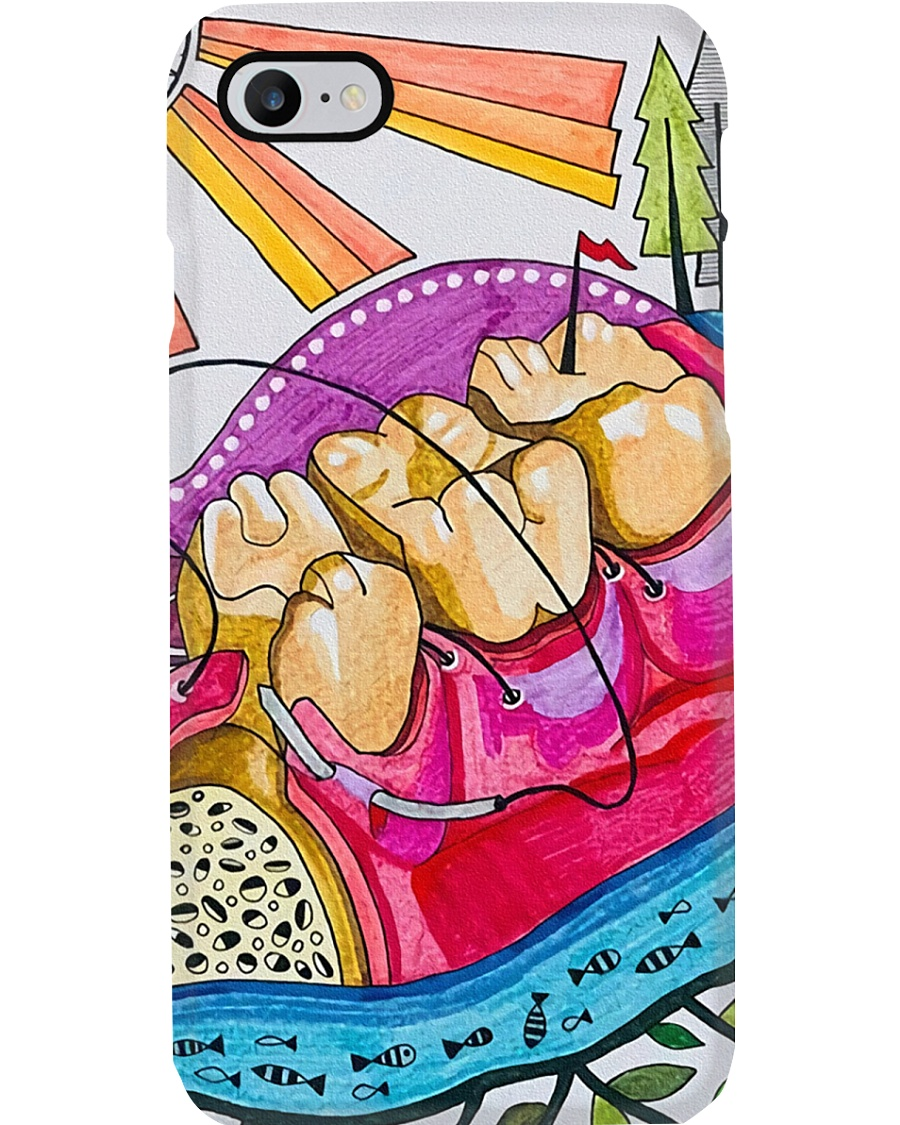 dental-abstract 0905 17 Phone Case