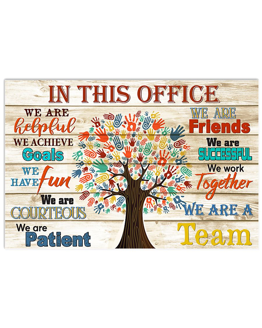 Occupational Therapist this office tree 17x11 Poster