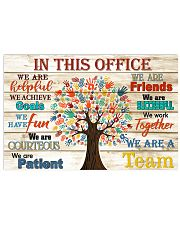 Occupational Therapist this office tree 17x11 Poster front