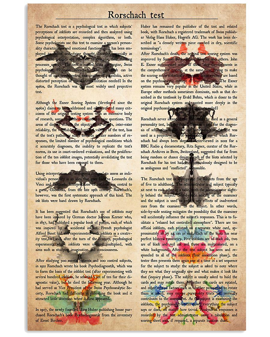 psychology Rorschach 11x17 Poster