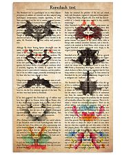 psychology Rorschach 11x17 Poster front