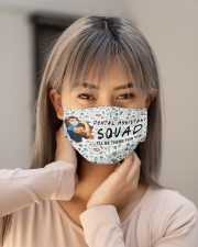 squad mask dental assistant Cloth Face Mask - 3 Pack aos-face-mask-lifestyle-18