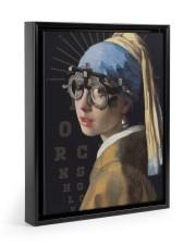 pearl-trial-frame 11x14 Black Floating Framed Canvas Prints thumbnail