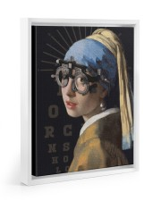 pearl-trial-frame 11x14 White Floating Framed Canvas Prints thumbnail