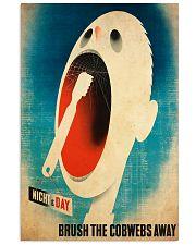 vintage dentist cobweb 11x17 Poster front