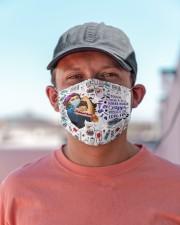 school nurse crazy enough mas Cloth Face Mask - 3 Pack aos-face-mask-lifestyle-06