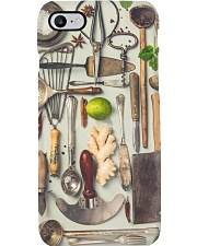 kitchen tool apron Phone Case tile