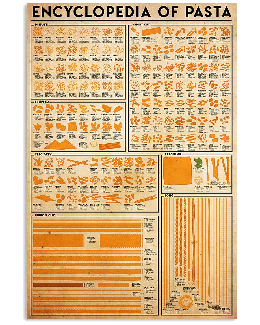 pasta-encl 24x36 Poster