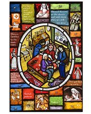Nurse Stain Glass 11x17 Poster front