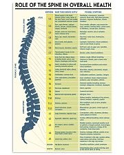 spine role 16x24 Poster front