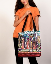 Abstract teeth tote 1 All-over Tote aos-all-over-tote-lifestyle-front-06