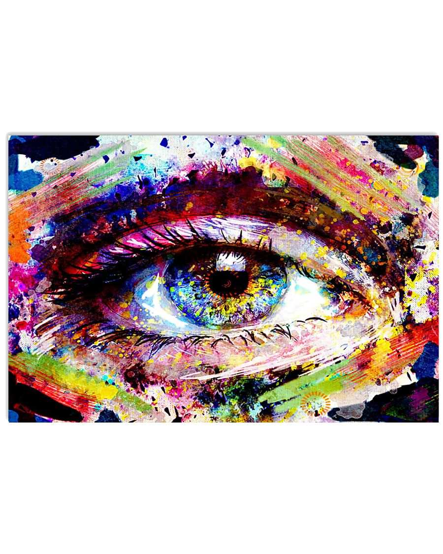 eye-glass-collage 3 17x11 Poster