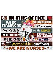 office nurse vase 17x11 Poster front